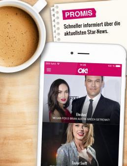 Ok App Die Kostenlose App Mit Brandaktuellen Promi News